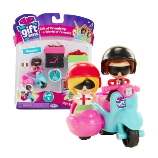 Gift'ems Scooter Play set with Exclusive Italy Gift'ems Couple