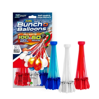 Bunch O Balloons 3Pack (WHITE, NAVY BLUE & RED)