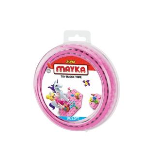 MAYKA Toy Block Tape 1m2Stud / Pink