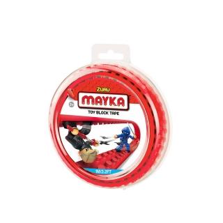MAYKA Toy Block Tape 1m2Stud / Red