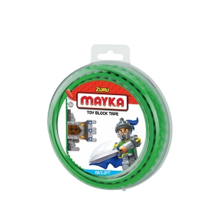 MAYKA Toy Block Tape 1m2Stud / Dark Green