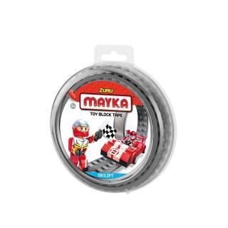 MAYKA Toy Block Tape 1m2Stud / Grey