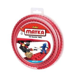 MAYKA Toy Block Tape 2m2Stud / Red