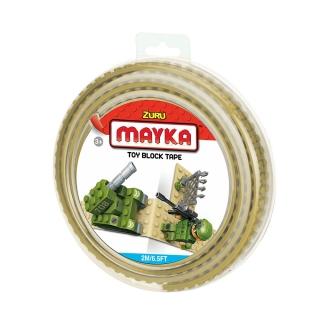 MAYKA Toy Block Tape 2m2Stud / Sand