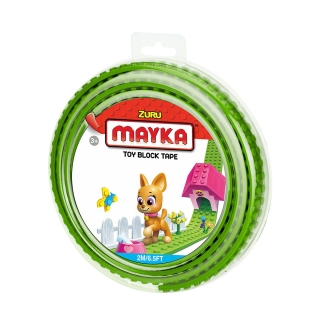 MAYKA Toy Block Tape 2m2Stud / Light Green