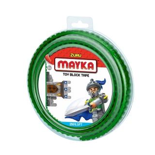 MAYKA Toy Block Tape 2m2Stud / Dark Green