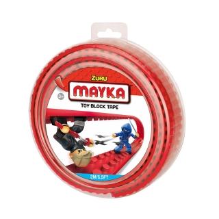 MAYKA Toy Block Tape 2m4Stud / Red