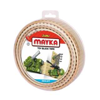 MAYKA Toy Block Tape 2m4Stud / Sand