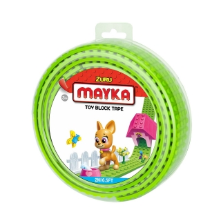 MAYKA Toy Block Tape 2m4Stud / Light Green