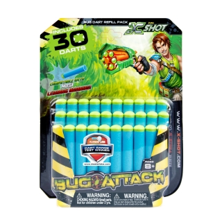X-SHOT Bug Attack 30PKF Refill Darts
